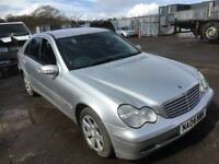Mercedes Benz c class c220cdi c270 Breaking bumper bonnet wings lights radiator alloy wheels