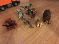 Mythical creature figures
