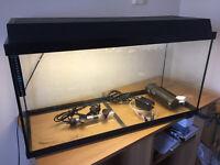 90 liters fish tank