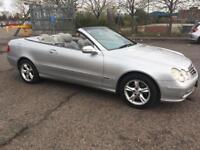 Mercedes Benz CLK AG SE Convertible 2004 1.8 Automatic silver £ 2995