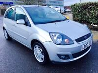 Ford Fiesta Ghia 1.4 L,Ford Service history ,Cambelt done 70k1 owner,leather seats,Low miles