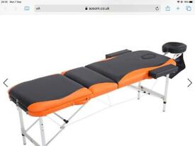 Portable Massage / Therapy Couch New (used Once)