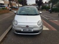 2011 FIAT 500 LOUNGE 1.2 MINT CONDITION 12 MONTH FULL MOT AND HISTORY