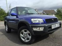 *VERY LOW MILES WITH FULL SERVICE RECORD*TOYOTA RAV-4 SUV 2.0 FREESPORT LIMITED EDITION ONLY 71K*