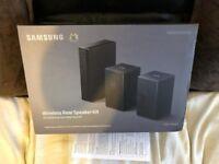 SAMSUNG SWA-9000S WIRELESS REAR SPEAKER KIT - BRAND NEW AND SEALED