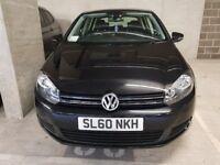 2010 Volkswagen Golf 1.6 TDI Match 7spd DSG 5dr