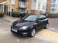 2013 Seat Ibiza 1.6 TDI FR 3dr Full service history 22,000 miles immaculate condition