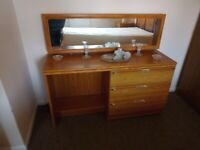 New dressing table with separate chest of drawers and matching