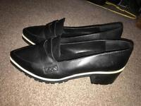 Office ladies loafers size 8