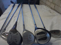2x sets of Golf Clubs and bags (Browning/Maxfli) £50