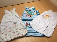 Baby sleep bags and grobag