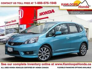 2013 Honda Fit Sport - Fun-to-Drive Subcompact
