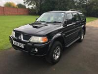 Mitsubishi Sport 2.5 td equippe 05 12 months MOT One owner from new only 90,000 miles