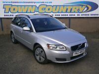 ***2010 Volvo V50 S D DRIVE **FULL SERVICE HISTORY**ONLY £30 TAX**( estate touring avant 320d a4 v70