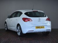VAUXHALL ASTRA 1.4T 16V Limited Edition 5dr [Leather] (white) 2015