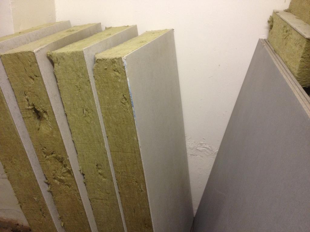 High impact soffit batt insulation & fixings