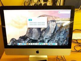 iMac 21.5inch Mid 2011 intel core i5,2.7 GHz 12GB RAM DDR 3 1TB HDD.Ready to use.A+ Grade.