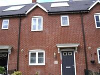 2 bedroomed house in Blandford,solar panel,front/back garden,garage,close to all amenities.