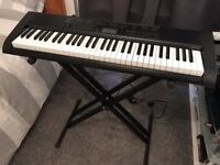 Casio 42 Key Keyboard with Stand & Case