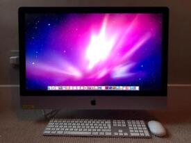 iMac 27inch monitor 3.2 GHz Intel Core i3