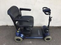 Go Go Elite Traveller Plus Mobility Scooter. Free Local Delivery. Blue Gogo