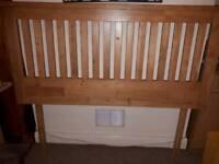 Wooden 4ft 6 headboard