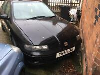 Seat leon cupra turbo AUQ engine running 230bhp comes with car for free