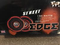 Street series 150 watts coaxial speakers