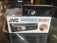 JVC KD-R311 FM Car Radio with CD/MP3/WMA