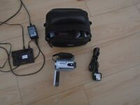 SONY HANDYCAM HDD 40GB HARDDRIVE WITH BAG AND ACCESSORIES