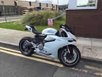 2015 Ducati 899 Panigale ABS White Silk