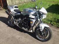 Triumph Speed Triple 955i 2004 Silver