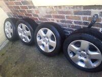 Vauxhall wheels 205/55/16