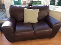 Lovely 2 seater leather sofa