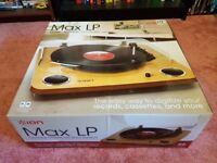 Ion Max LP Vinyl Turntable Record Player