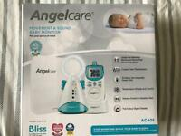 Angelcare Movement & Sound Baby Monitor AC401.