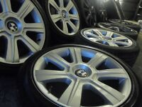 "17"" genuine bmw Alloys Wheels 3 1 e36 e46 Series Vw T5 transporter Vauxhall Vivaro traffic"