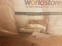 brand new king size mattress sealed orthopaedic memory