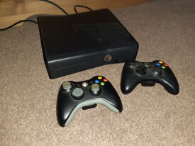 Xbox 360 S 320GB console with games