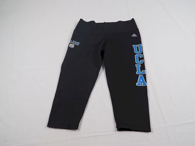 NEW adidas UCLA Bruins - Black ClimaLite Athletic Capri Pants (Multiple Sizes)