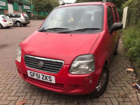 2001 SUZUKI WAGON R 5 DOOR, AUTOMATIC LOW MILES