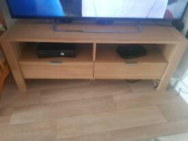 Tv stand and large book shelve