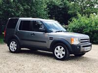 LAND ROVER DISCOVERY 3 'HSE' (2007) 'TDV6 - AUTO - LEATHER - SAT NAV - 7 SEATER' **MASSIVE SPEC**