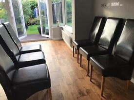 Barker and Stonehouse Leather Chairs