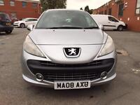 Peugeot 207 1.4 2008 service History with Mot