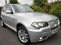 07 BMW X3 3.0D S M SPORT *TWIN TURBO* 286BHP 4X4 FULLY LOADED X5 335D RAV4 XTRAIL 535D VITARA SHOGUN