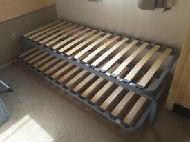 Caravan bed bases