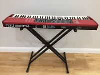 NORD ELECTRO 4 SW73. 73 note, waterfall design. Great instrument with stunning sounds.
