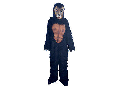 Vintage 60's or 70's Werewolf Costume Wolfman Halloween Costume Full Body! Nice!