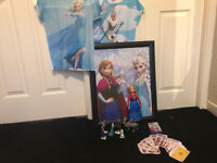Assortment Of Disney Frozen Items All In Excellent Condition